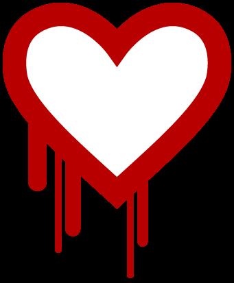 Heart bleed.  Heart attack?